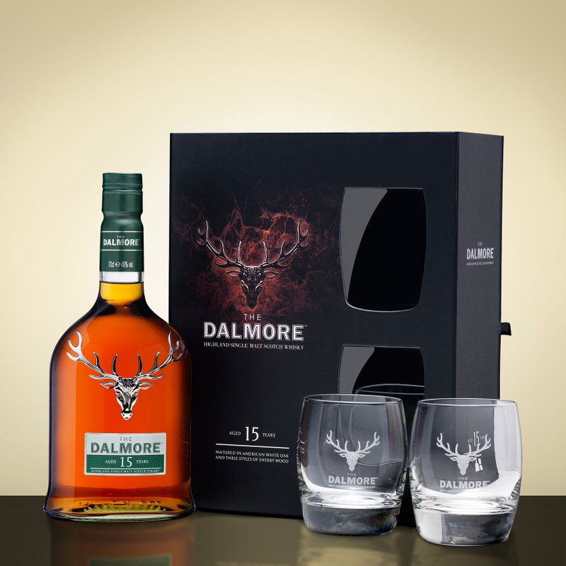 The Dalmore 15 Year Old Gift Box Set