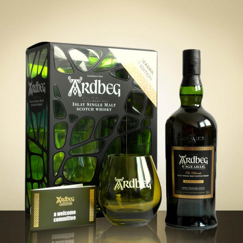 Ardbeg Uigeadail Limited Edition Gift Pack