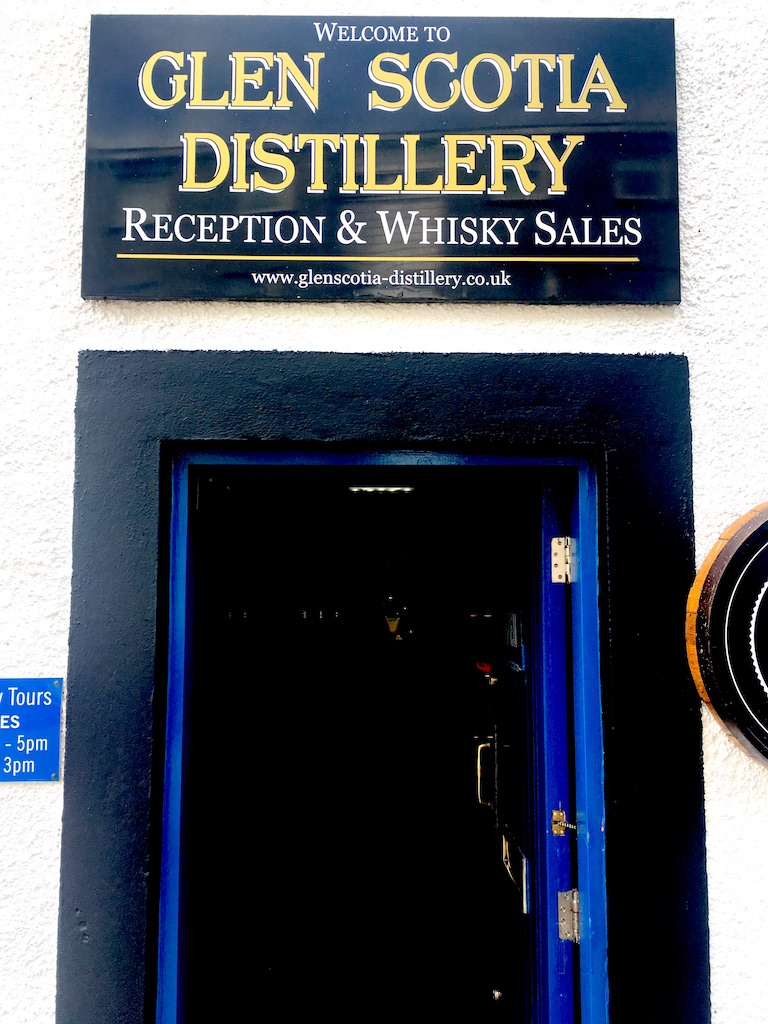 Glen Scotia Distillery Entrance