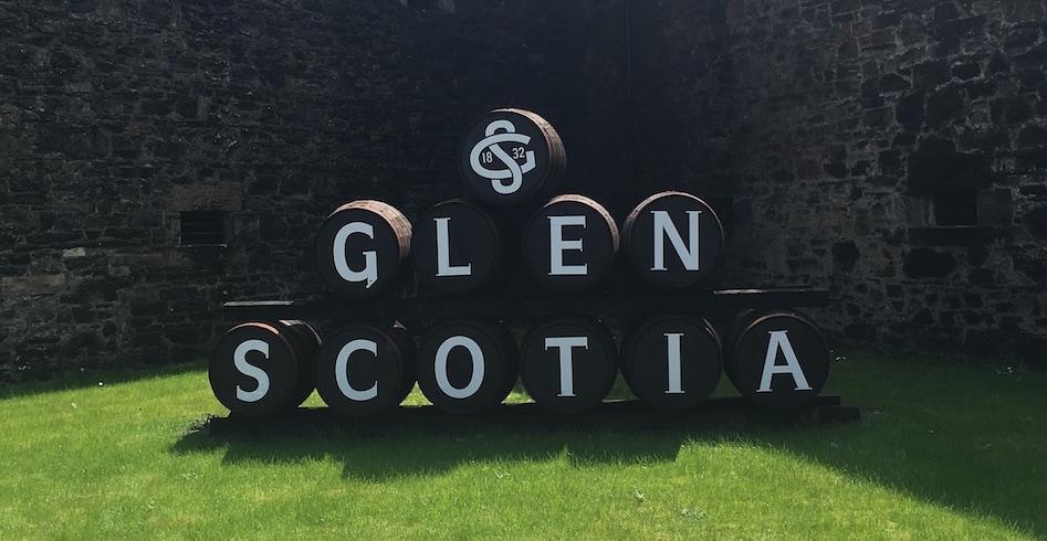 Glen Scotia Distillery Casks