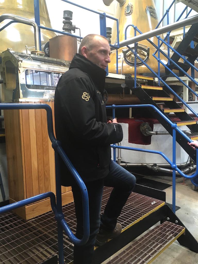 Iain McAlister, Glen Scotia Distillery Manager