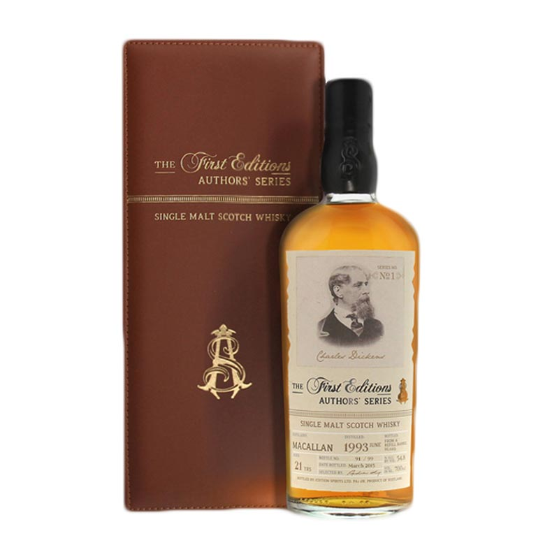 Authors Series Macallan 1993 Charles Dickens