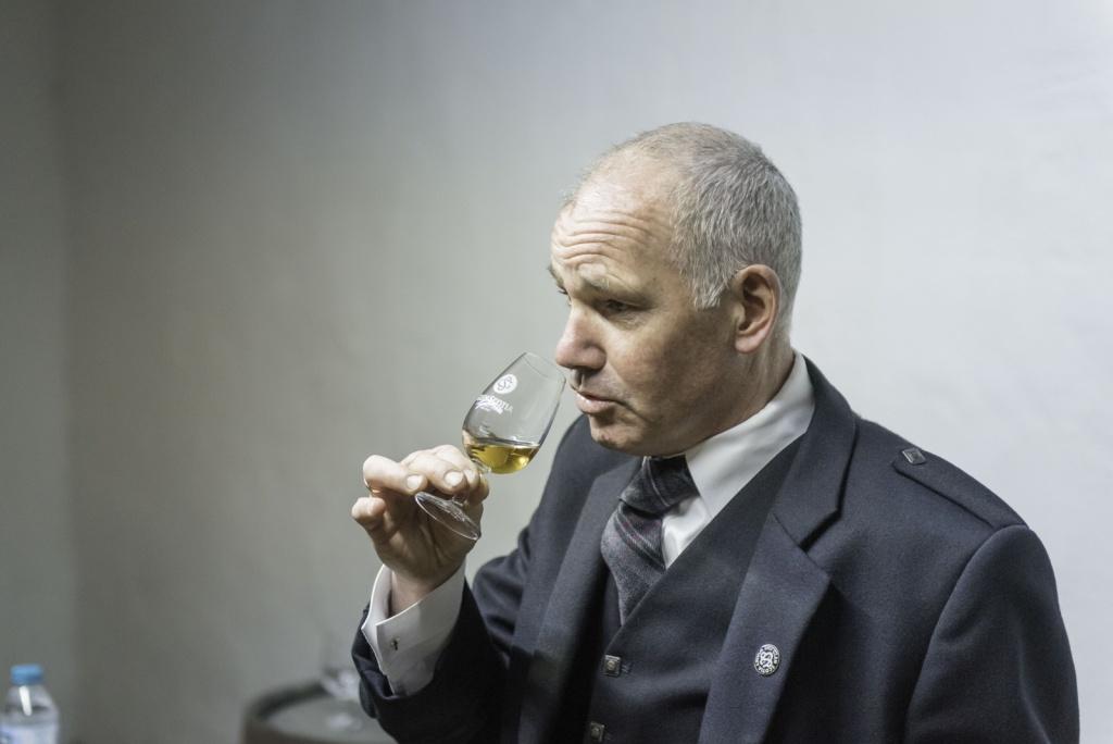 Glen Scotia Distillery Manager, Iain McAllister