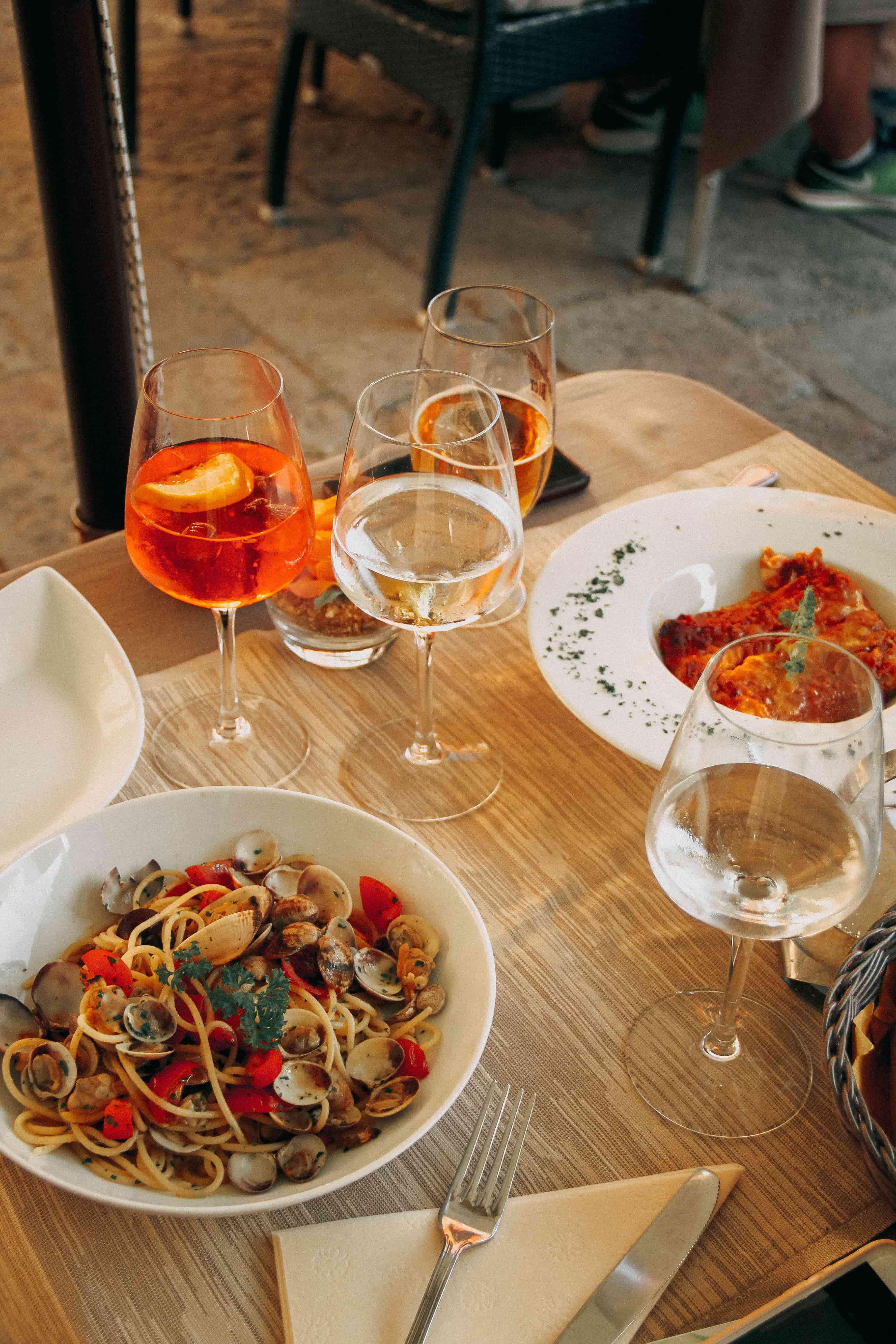 Italian inspired dinner