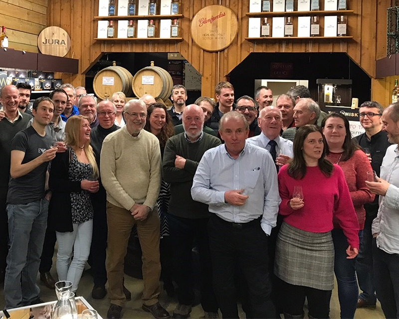 Members of The W Club at an exclusive tasting event (2018)