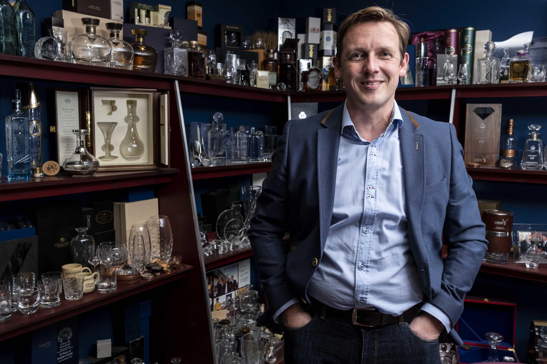 Scott Davidson, new product development director at Glencairn