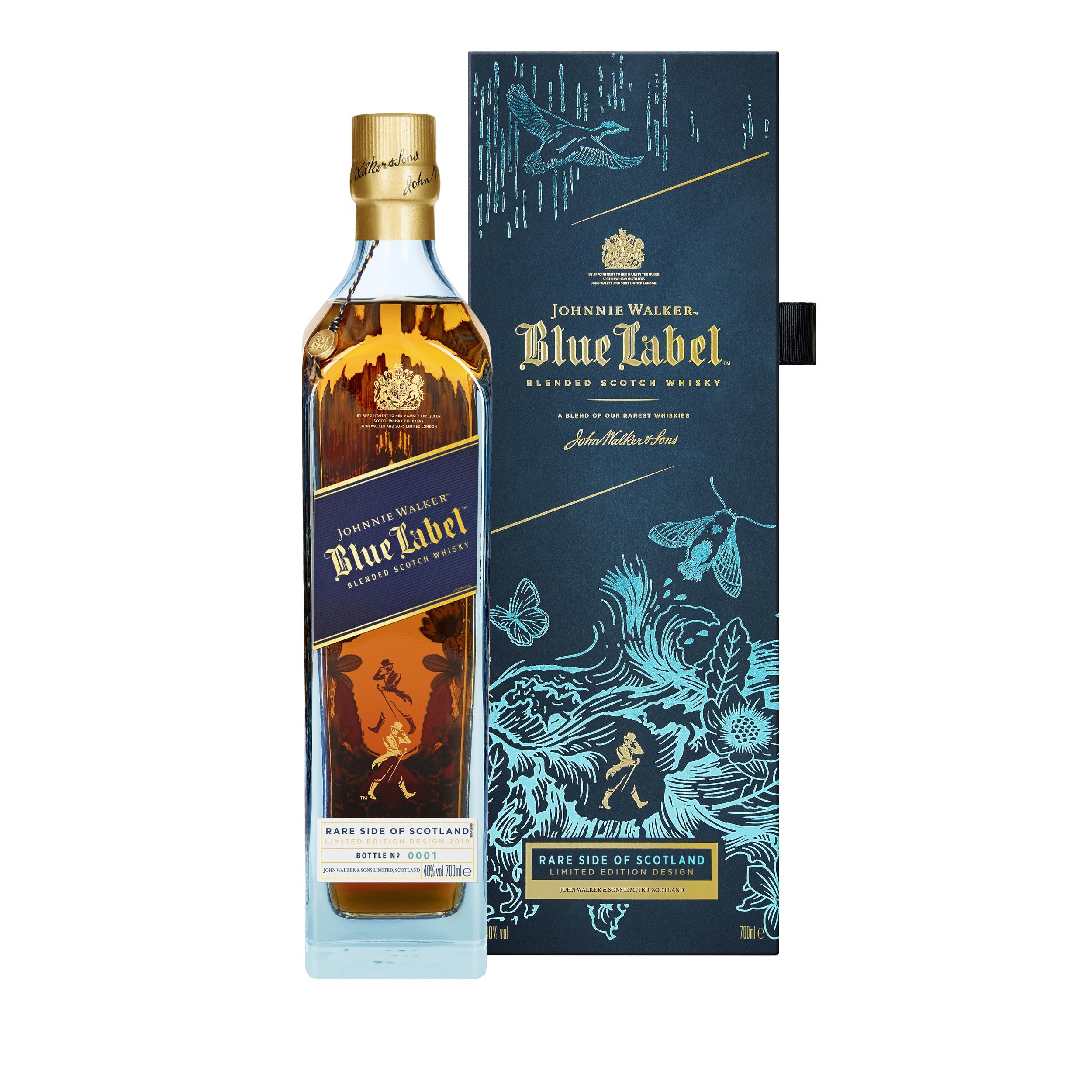 Johnnie Walker Blue Label Rare Side of Scotland