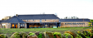 Kingsbarns Distillery from the front