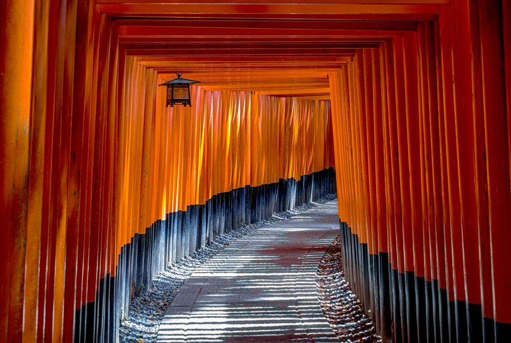 Traditional Japanese Walkway
