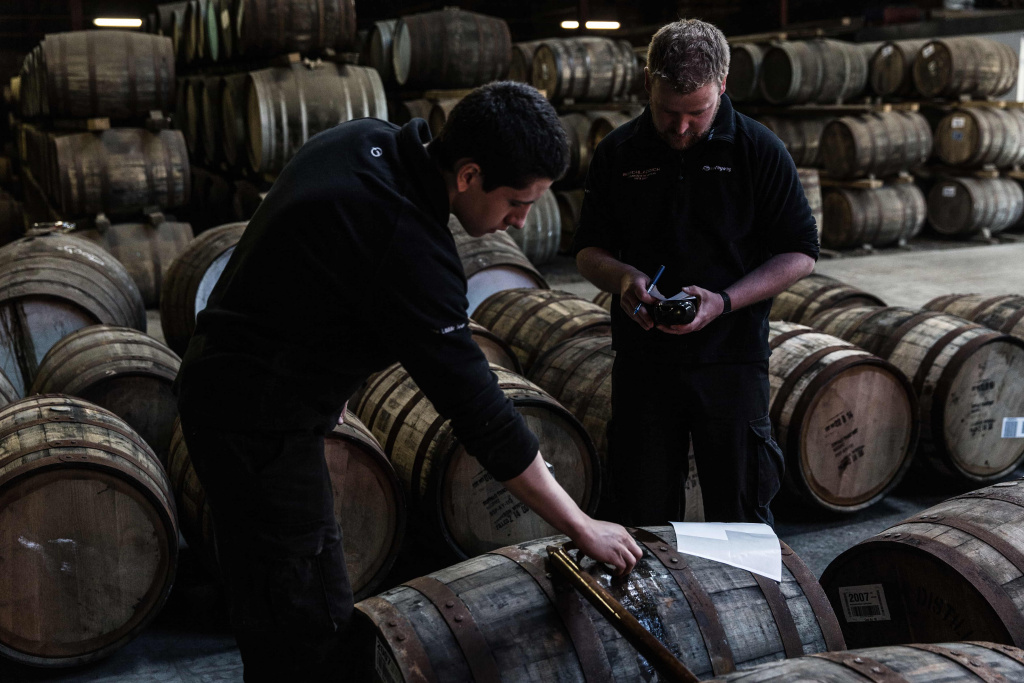 Bruichladdich Head Distiller Adam Hannett
