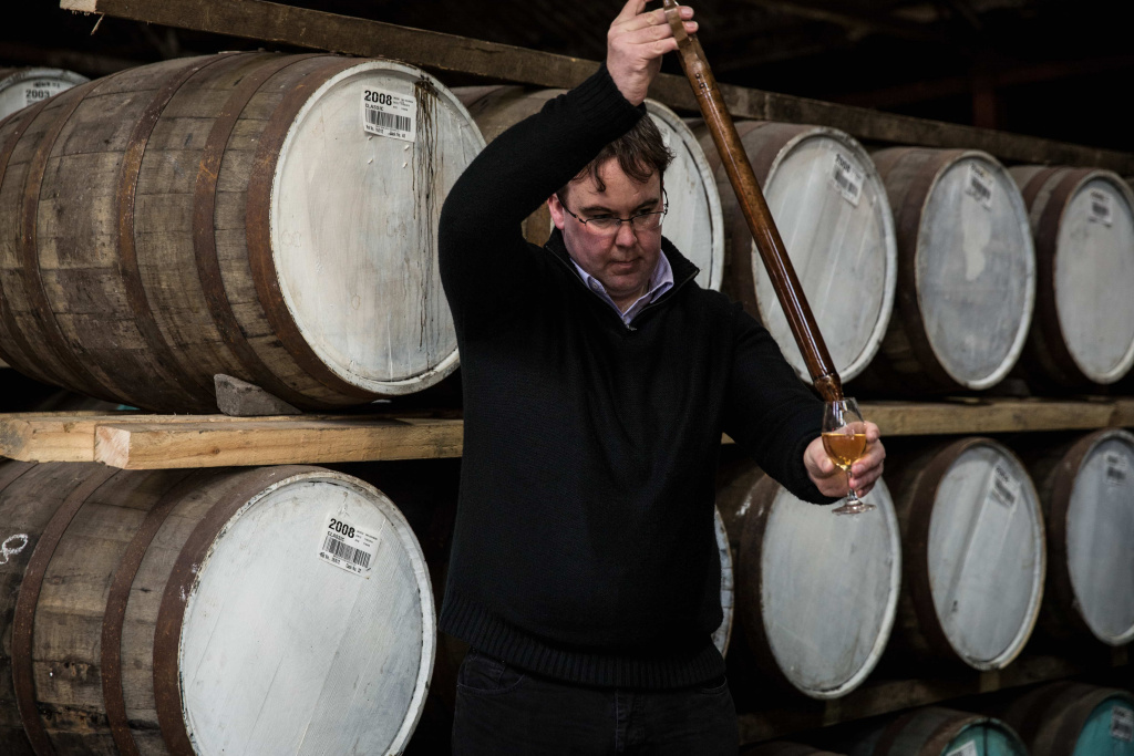Distillery Manager Allan Logan