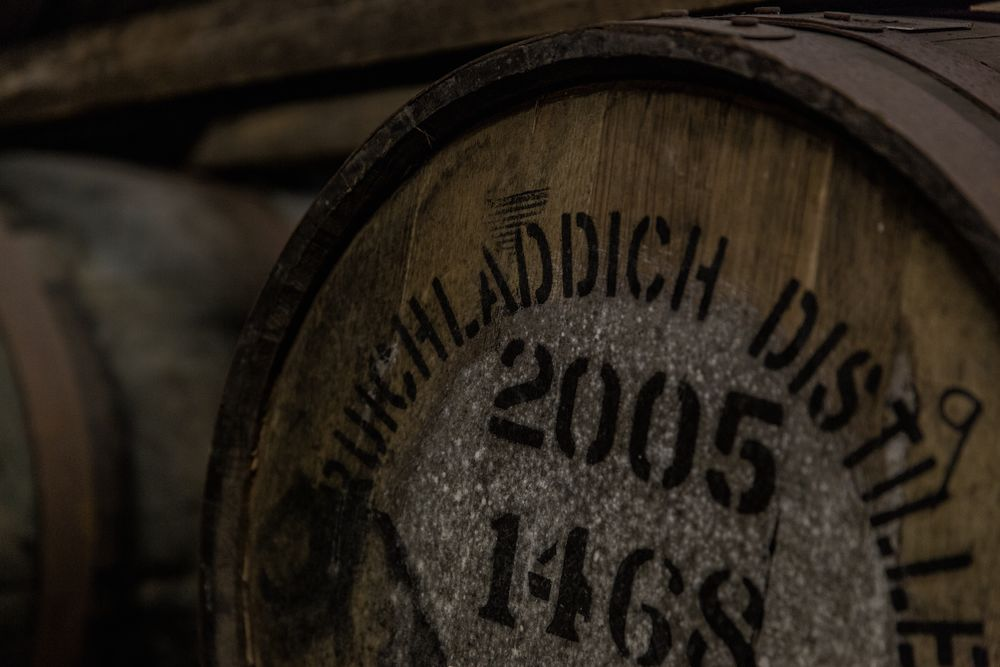 Cask at Bruichladdich Distillery