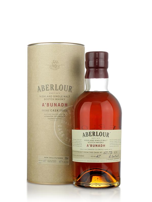 Aberlour Abunadh  Speyside Single Malt Scotch Whisky 70cl
