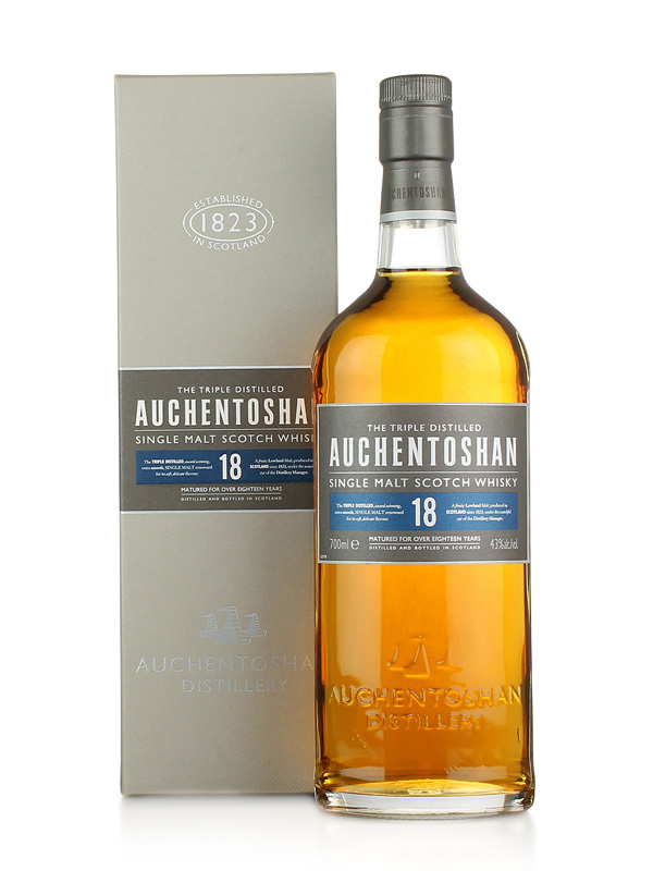 Auchentoshan 18 Year Old Lowland Single Malt Scotch Whisky 70cl