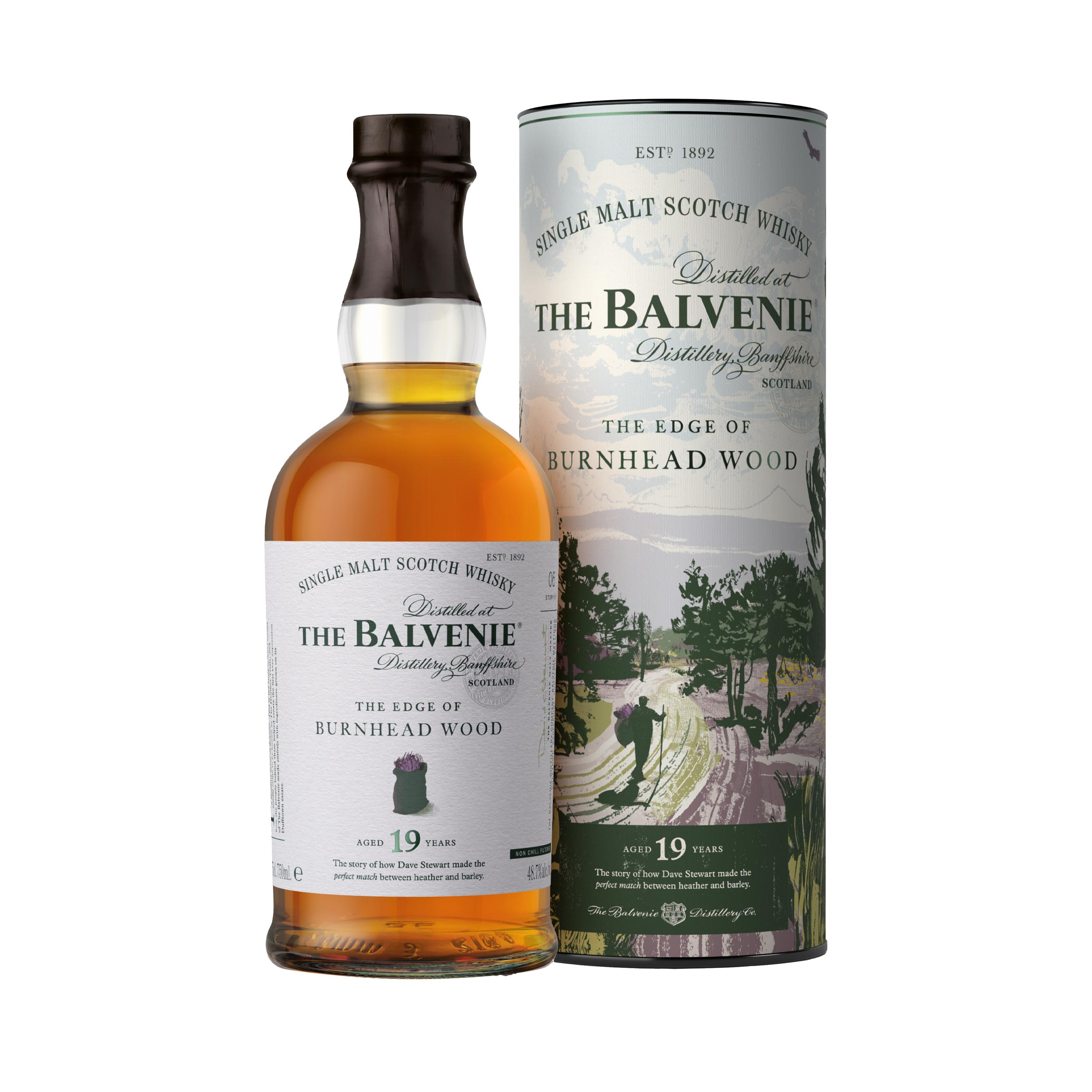 Balvenie The Edge of Burnhead Wood 19 Year Old Speyside Single Malt Scotch Whisky 70cl