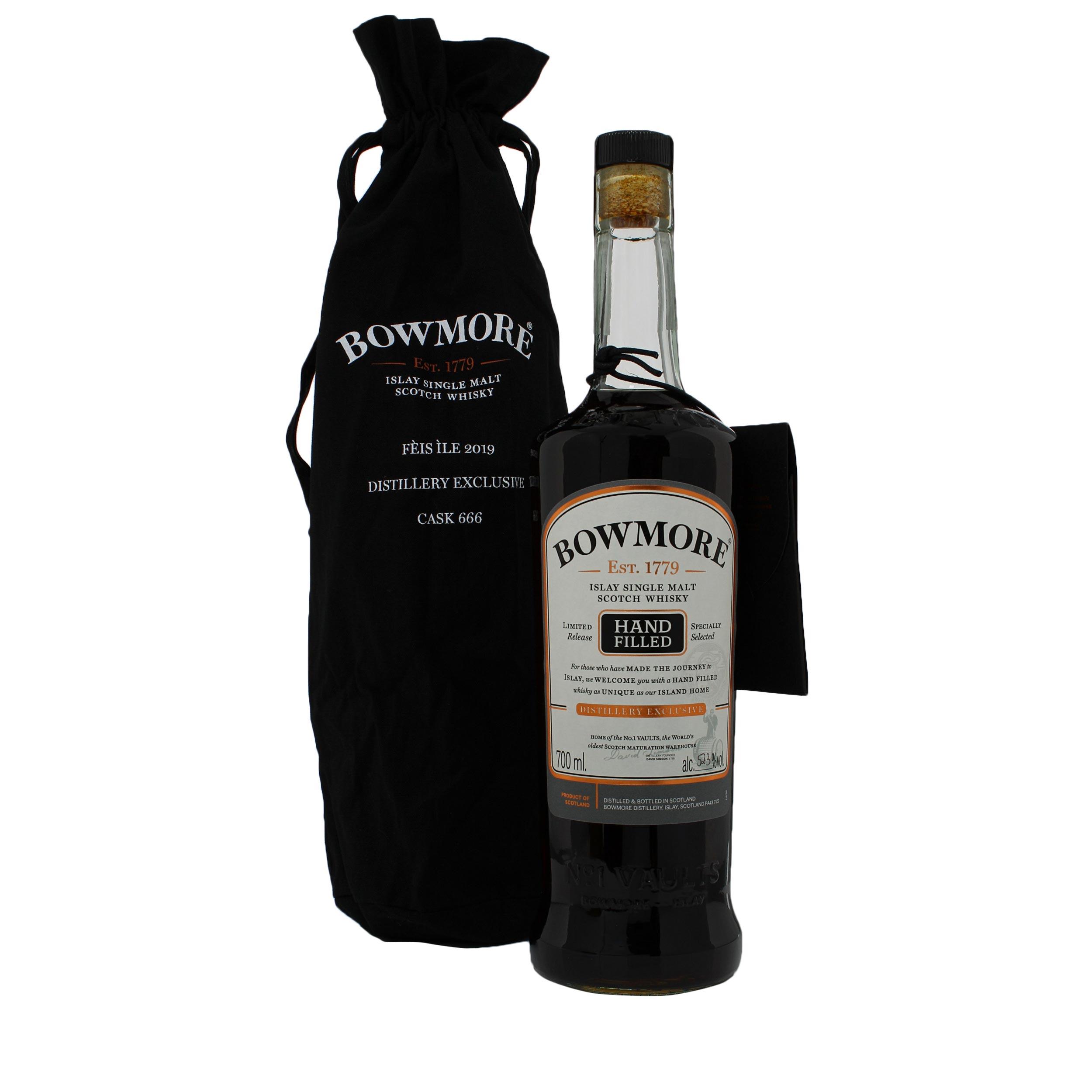 Bowmore Feis Ile 2019 Cask #666 Limited Edition Single Cask Islay Single Malt Scotch Whisky 70cl