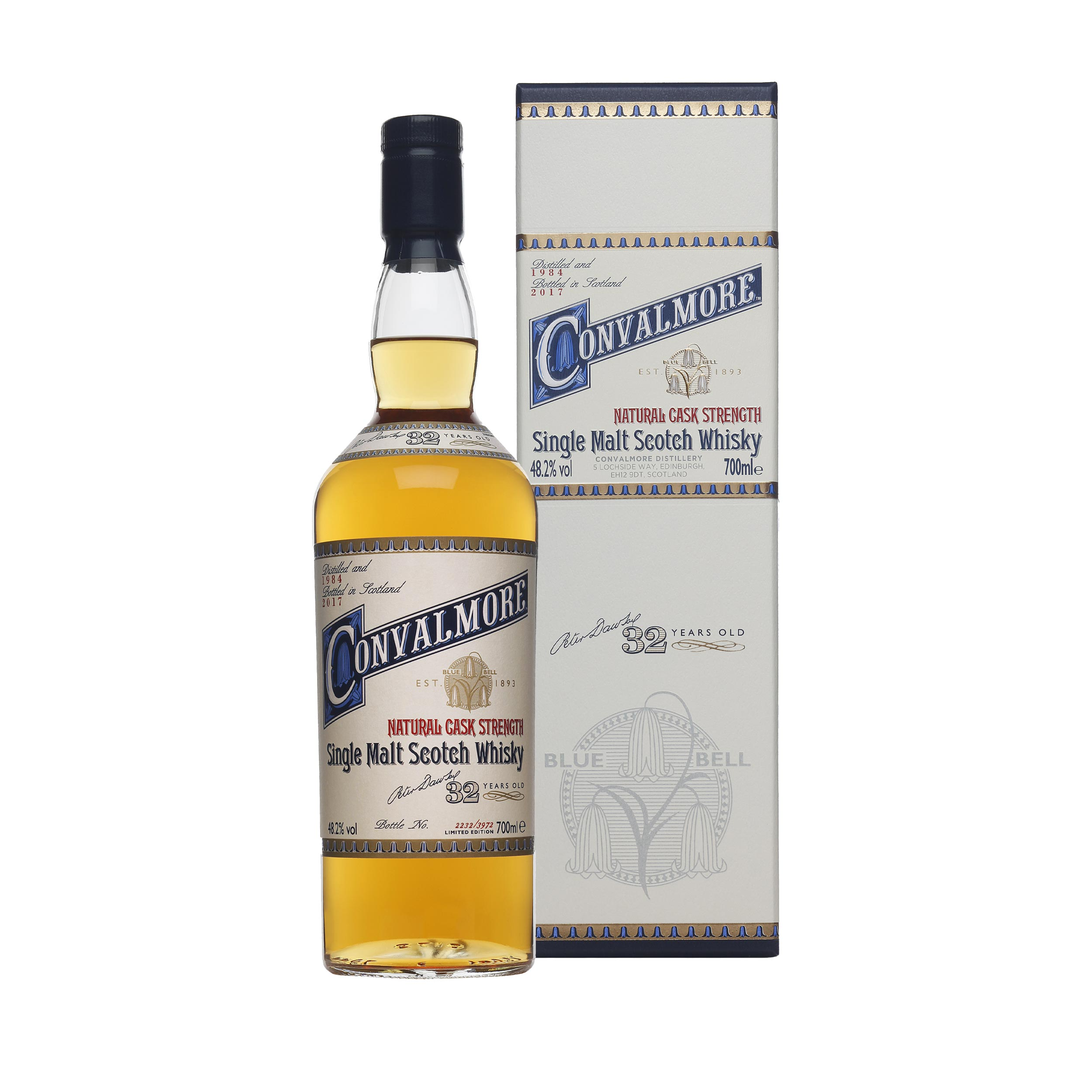 Convalmore 32 Year Old 2017 Special Release Limited Edition Speyside Single Malt Scotch Whisky 70cl