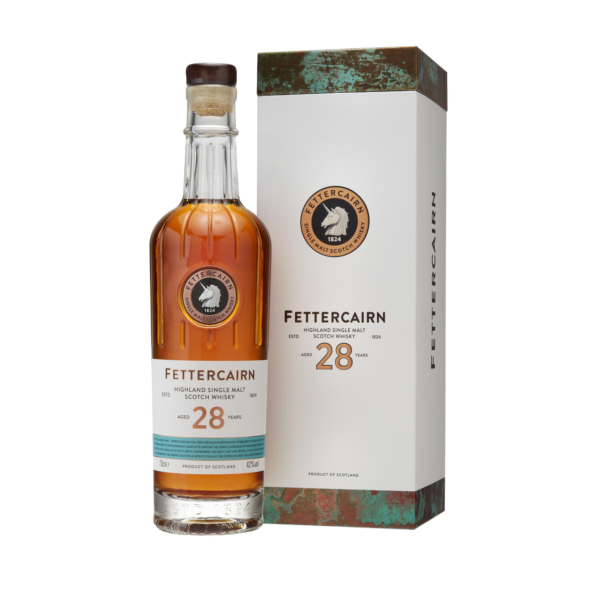 Fettercairn 28 Year Old Highland Single Malt Scotch Whisky 70cl