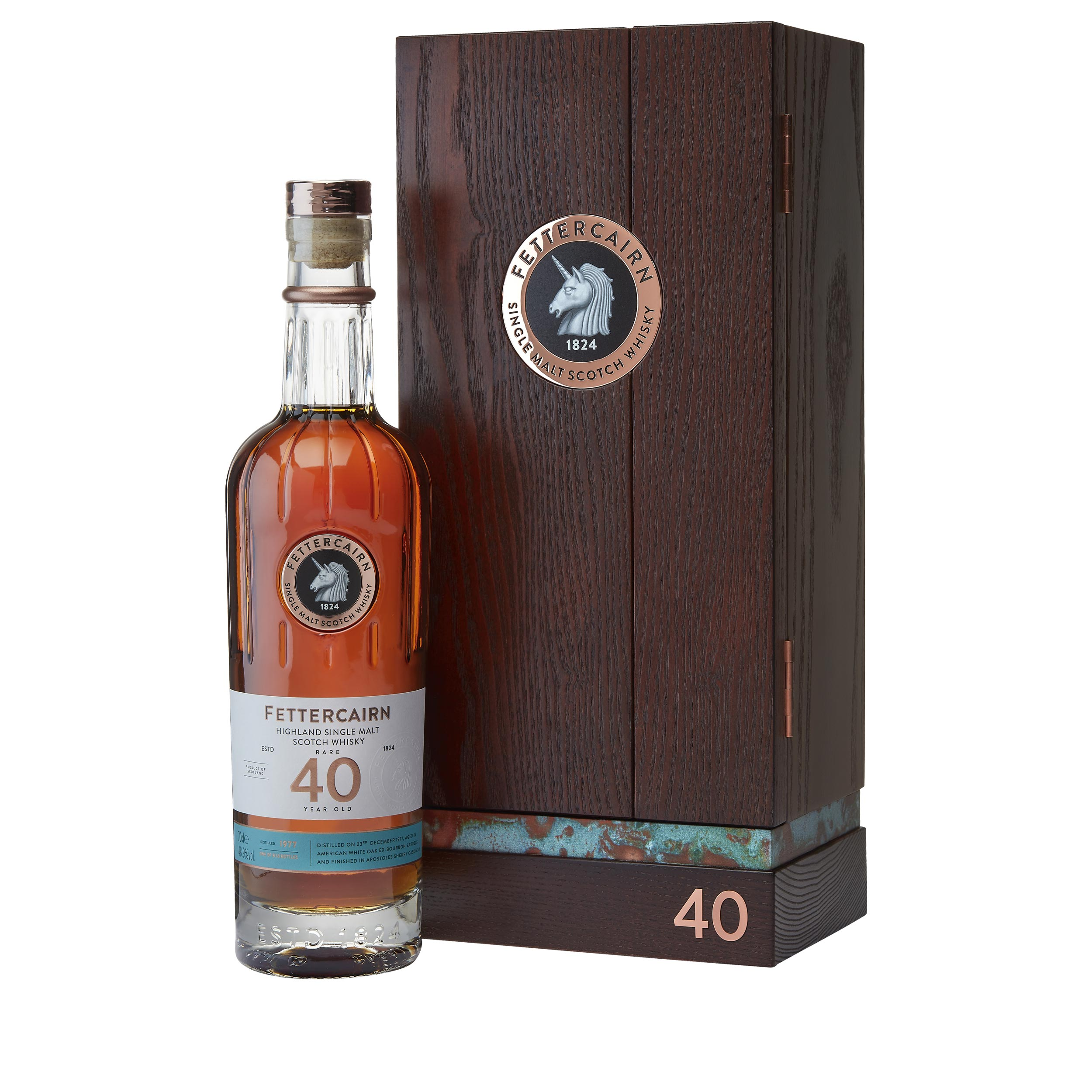Fettercairn 40 Year Old Limited Edition Highland Single Malt Scotch Whisky 70cl