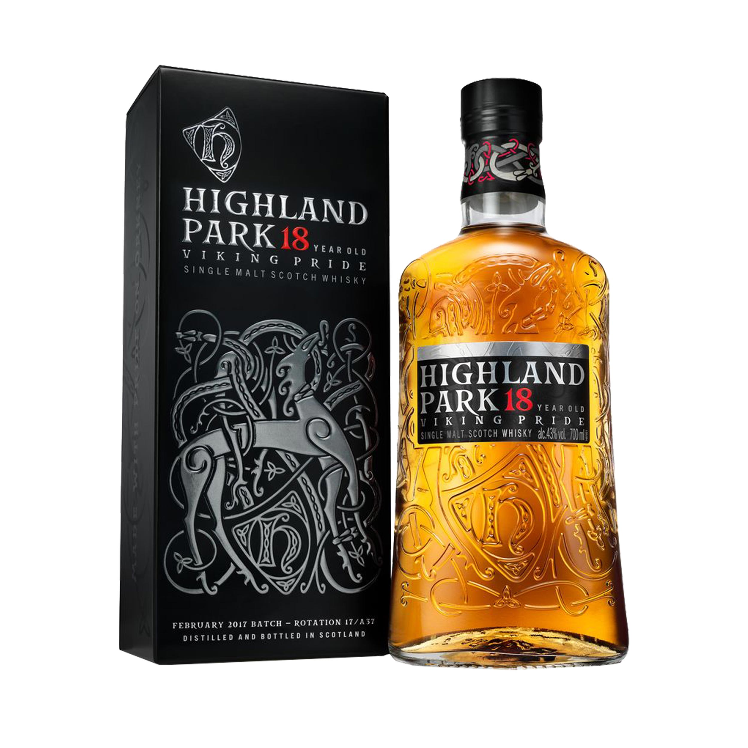 Highland Park 18 Year Old Island Single Malt Scotch Whisky 70cl