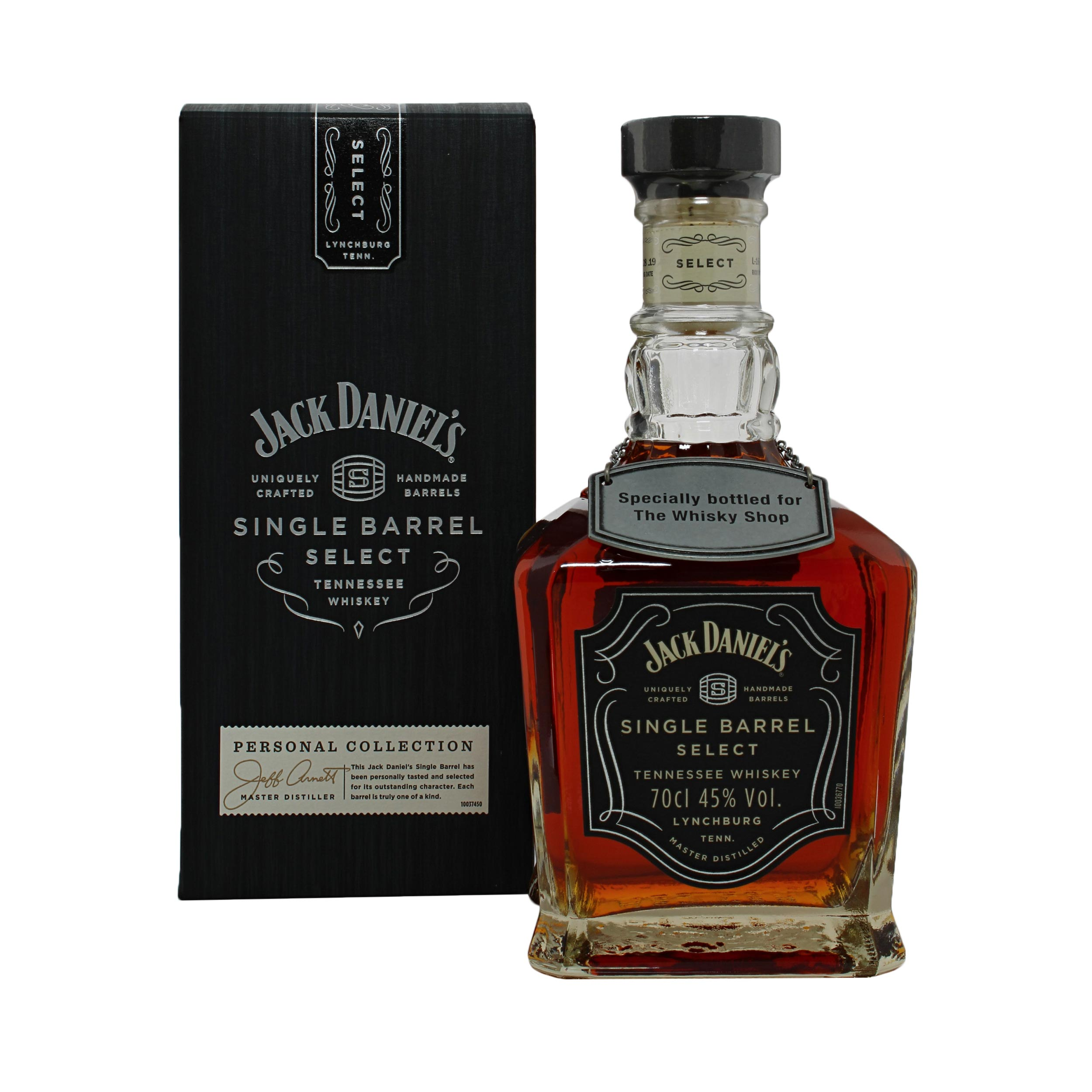 Jack Daniels Single Barrel Select #19-07778 Exclusive Single Cask 70cl