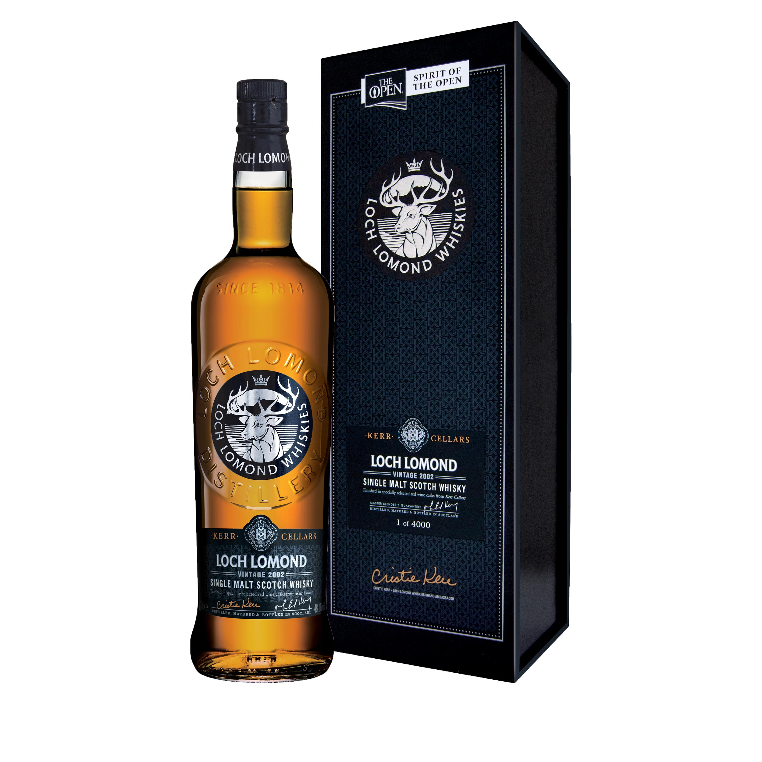 Loch Lomond 2002 Cristie Kerr Limited Edition Highland Single Malt Scotch Whisky 70cl