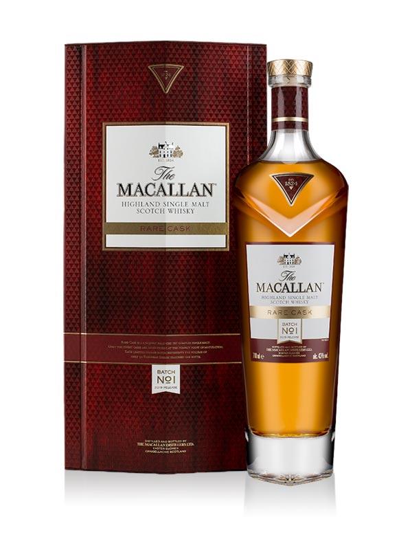 Macallan Rare Cask Batch No.1 2019 Release Limited Edition Speyside Single Malt Scotch Whisky 70cl