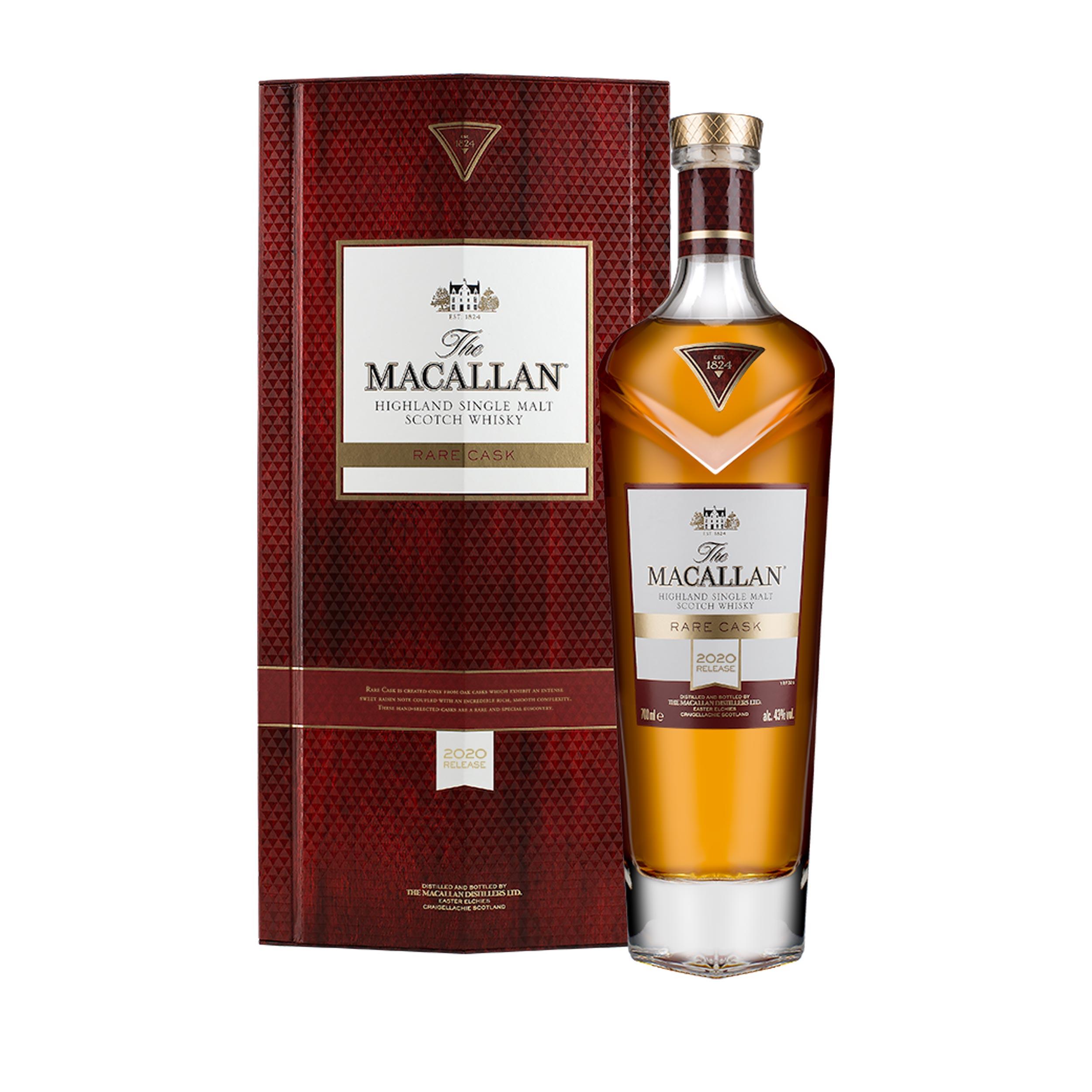 Macallan Rare Cask 2020 Release Limited Edition Speyside Single Malt Scotch Whisky 70cl