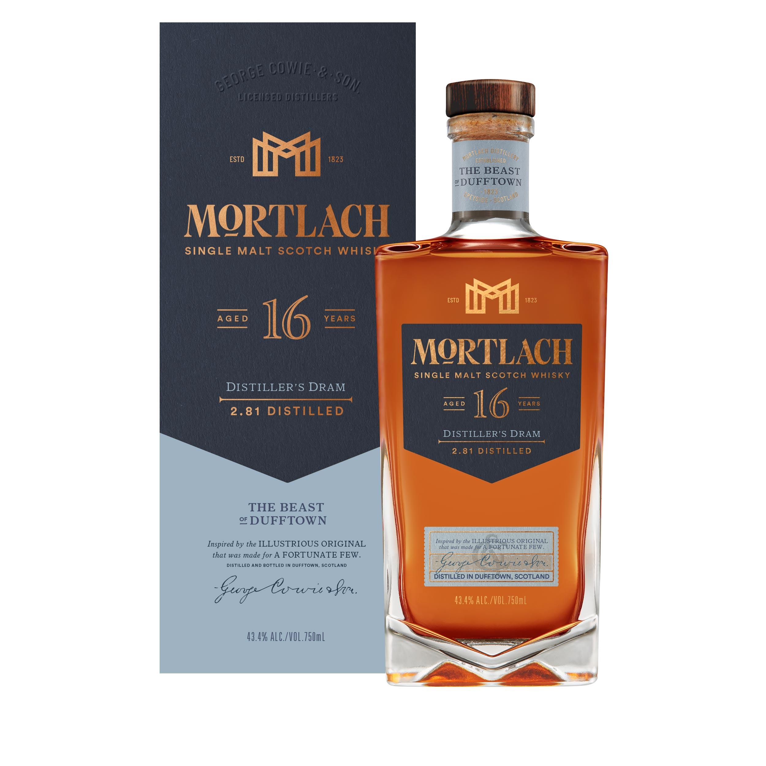 Mortlach 16 Year Old Distillers Dram Speyside Single Malt Scotch Whisky 70cl
