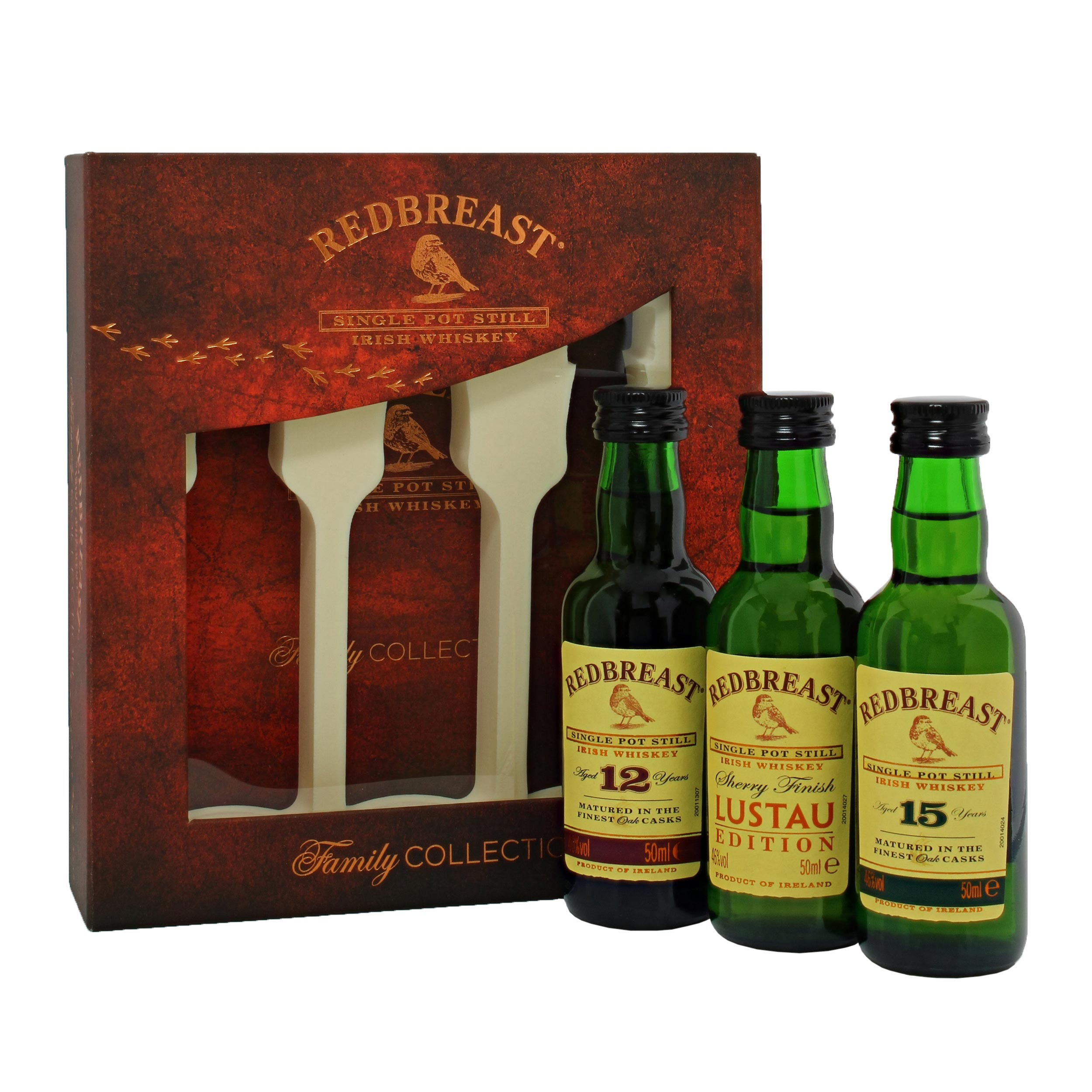Redbreast Family Collection 3x5cl 3x5cl