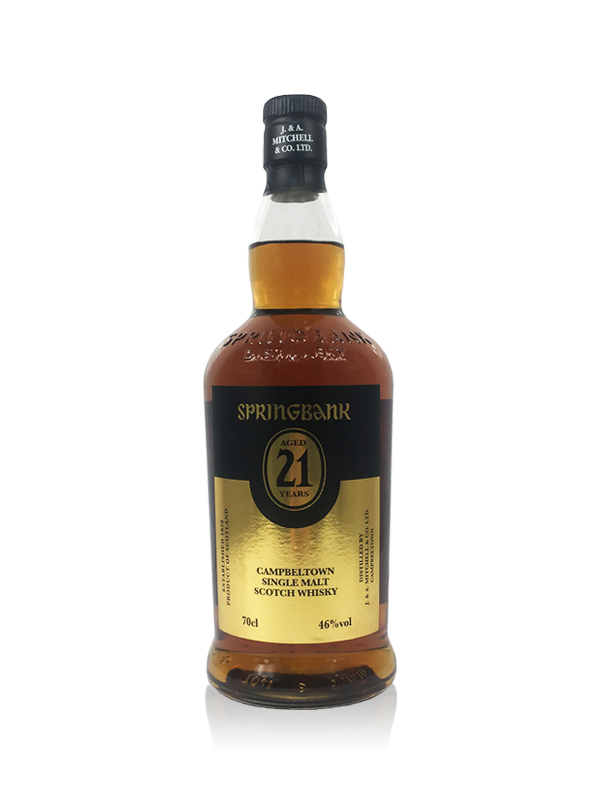 springbank 21 Year Old 2019 Campbeltown Single Malt Scotch Whisky 70cl