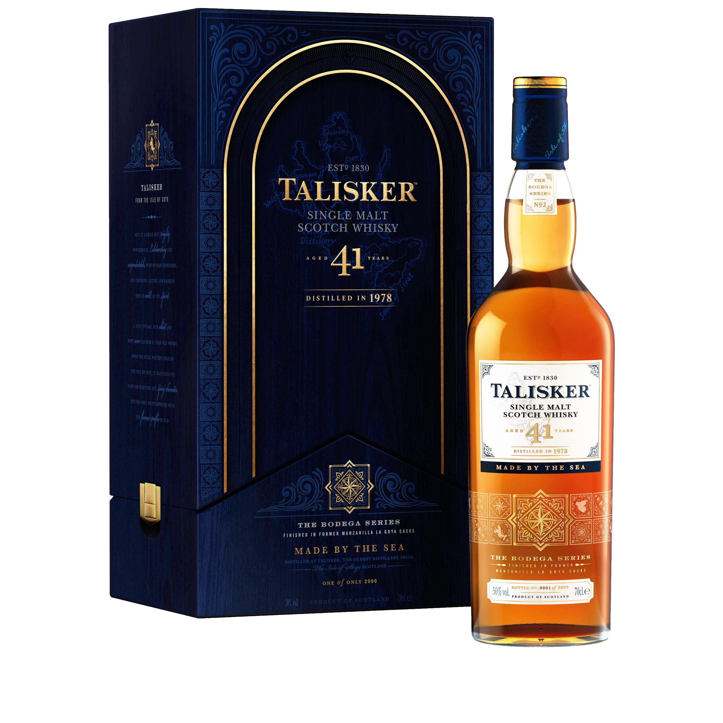 Talisker 41 Year Old Limited Edition Island Single Malt Scotch Whisky 70cl