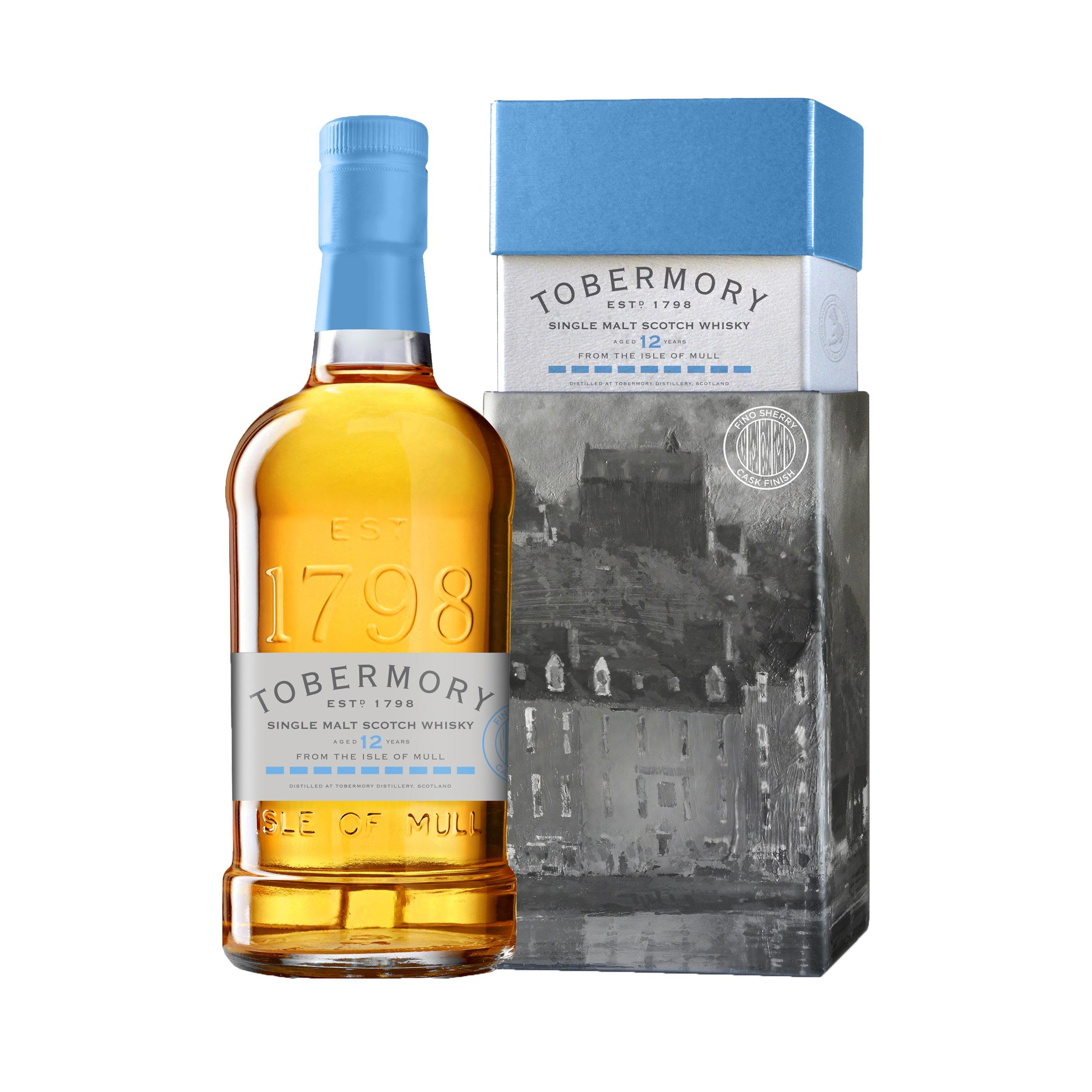 Tobermory 12 Year Old Fino Cask Finish Island Single Malt Scotch Whisky 70cl