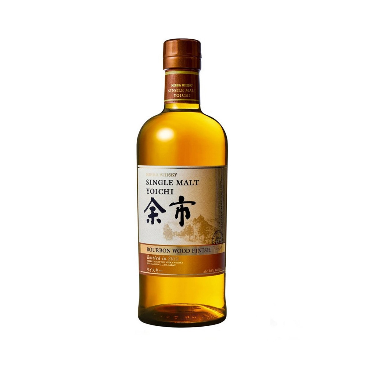 Yoichi Bourbon Wood Finish 70cl